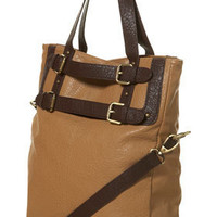 Tan Contrast Buckle Tote Bag - Bags & Purses - Accessories - Topshop
