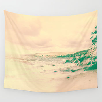 Fade to .. summer Wall Tapestry by HappyMelvin