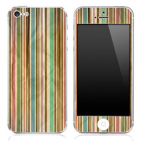 Vintage Vertical Striped iPhone 3g/3gs, 4/4s or 5 Skin