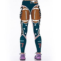 Women NFL Sporting Uniform Leggings