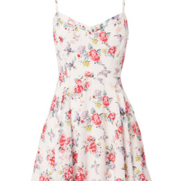 Floral Summer Strappy Dress