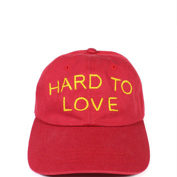Hard To Love Dad Hat