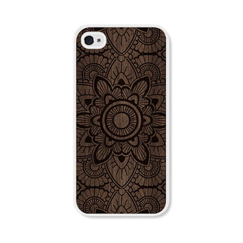 iPhone 6 Case Mandala iPhone 5 Case - Mandala iPhone 5c Case Wood iPhone 5 Case iPhone 6 Plus Case iPhone 5c Case Samsung Galaxy S3 Case