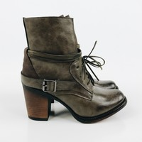 Cersei Ankle Boot - Olive