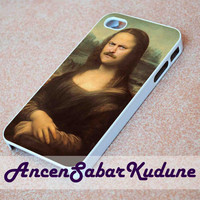 Ron Swanson Mona Lisa - Phone case,iphone 4/4s,5/5s/5c/6/6+/Samsung S3/4/5/6/ ipod touch 4/5