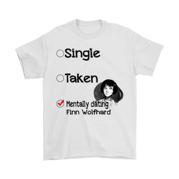 DCCKON7 Relationship Status Mentally Dating Finn Wolfhard Shirts