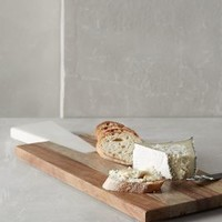 Iona Cheese Board by Anthropologie in Neutral Size: