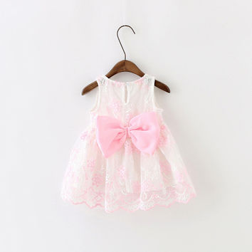 Newborn Baby Girl Dress Beautiful Lace Christening Gown For Infant Kid 1st Birthday Outfits Child Bridesmaid Little Girl Dress