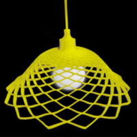 Modern Silica Gel Net Model Lamp Yellow - Wonderful Lights