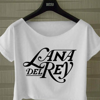 lana Del rey shirt, Womens crop shirt, Girls crop tee, lana del rey tops