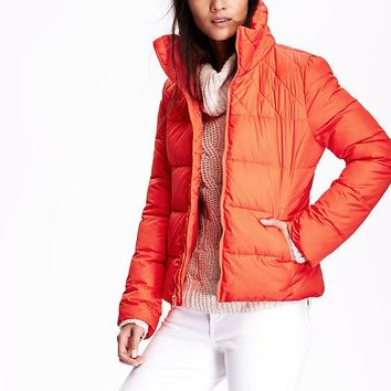 Old Navy Frost Free Quilted Jacket