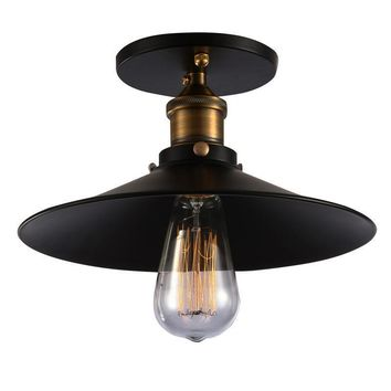 Cava Lighting Vintage Industrial Ceiling Light