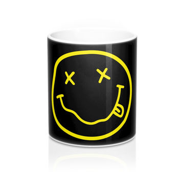 Nirvana's Smiley Face Mug