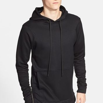Men's Public School Side Zip Hoodie,