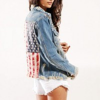 UNIF Americana Denim Jacket