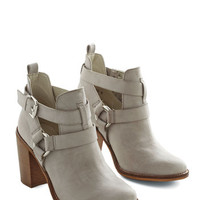 ModCloth Urban Steady As a Rock Bootie