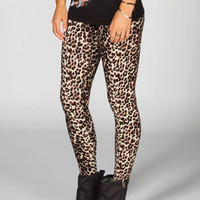FULL TILT Leopard Womens Leggings