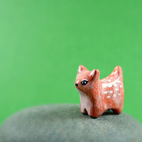 Little Deer - Hand Sculpted Miniature Polymer Clay Animal