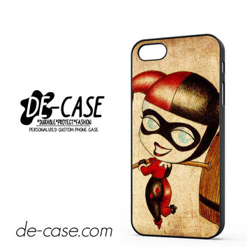 Harley Quinn And Joker Art Couple Case Device 2 DEAL-5070 Apple Phonecase Cover For Iphone 5 / Iphone 5S