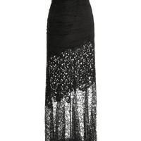 Radzimir And Lace Gown by Nina Ricci for Preorder on Moda Operandi