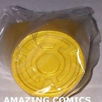 Green Lantern Blackest Night Plastic Ring - YELLOW LANTERN RING - FEAR