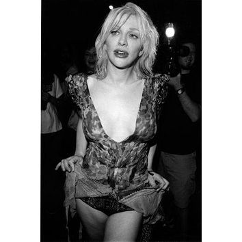 "Courtney Love Poster Black and White Mini Poster 11""x17"""