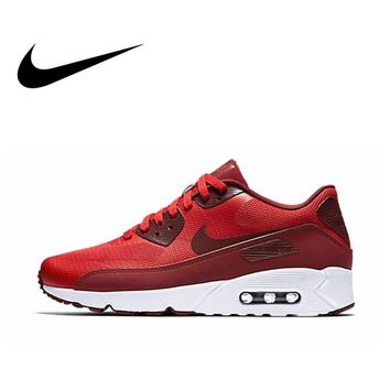 Official Original NIKE AIR MAX 90 ULTRA 2.0 Men's Breathable Running Shoes Classic comfortable Outdoor Leisure Sports Sneakers