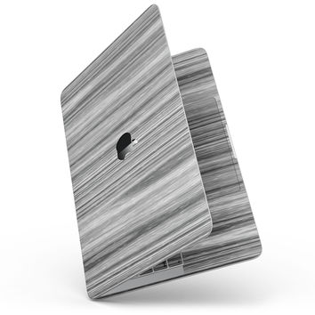 """Textured Gray Dyed Surface - 13"""" MacBook Pro without Touch Bar Skin Kit"""
