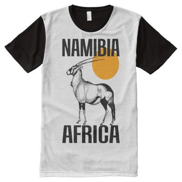 NAMIBIA (GEMSBOK) All-Over-Print T-Shirt
