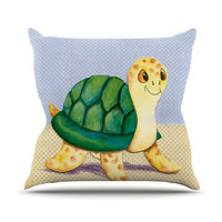 "Padgett Mason ""Slow and Steady"" Throw Pillow"