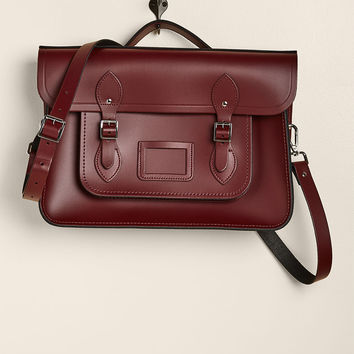 The Cambridge Satchel Company Bag in Oxblood - 15""