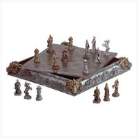 Medieval Knights Chess Set