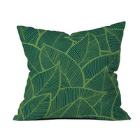 Jungle Leaves Pillow