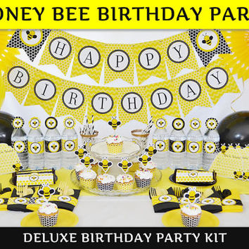 Bee Party / Bee  Birthday DELUXE