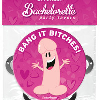 Bachelorette Party Favors Pecker Tambourine