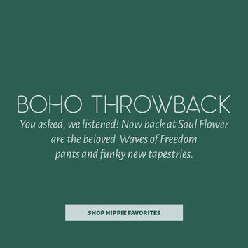 Hippie Clothes | Boho Clothing | Yoga Clothing | Soul Flower
