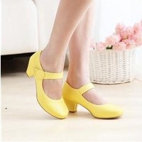 Plus Size With Heel Shoes [11192767943]