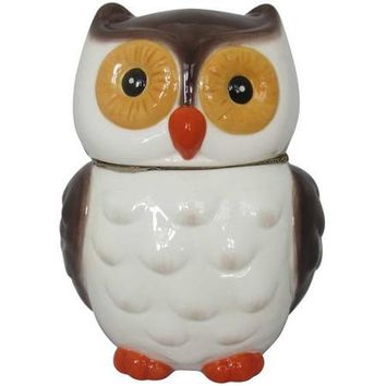 Mossy Oak Owl Cookie Jar, Dark Brown - Walmart.com