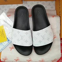 LV Louis Vuitton Women's Trendy Sport Slippers F