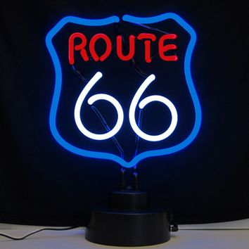Route 66 Neon Sculpture