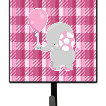 Elephant with Pink Balloon Leash or Key Holder BB6948SH4