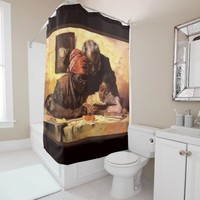 The Scholar - Harry Roseland Shower Curtain