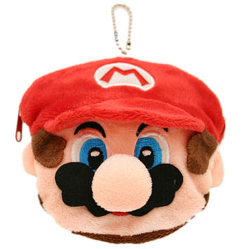 Mario Face Coin Wallet