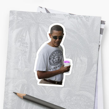 'Barack Obama ' Sticker by jackiechalghin