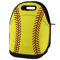PEAPGQ9 Softball Lunch Tote Bag