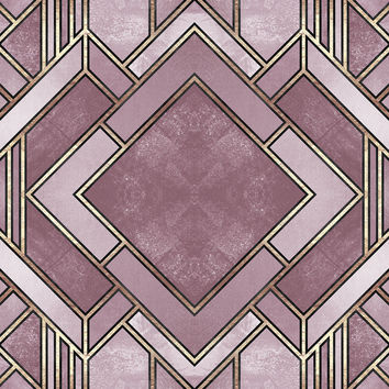 Art Deco City Removable Wallpaper