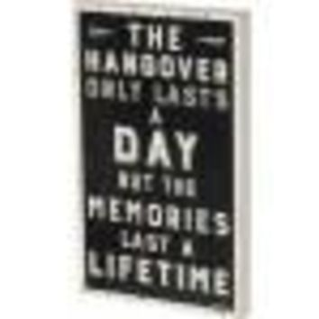 Hangover Box Sign By Primitives By Kathy