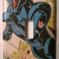 Transformers Ravage Decepticon comic book light switch cover