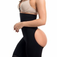 High Waisted Body Shaper & Butt Lifter - BLACK