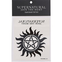 Supernatural Join The Hunt Anti-Posession Temporary Tattoo